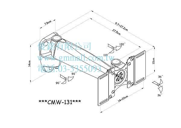 https://www.gmmall.com.tw/images/image/CMW-131%E7%B7%9A%E5%9C%96.jpg