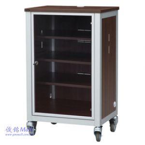 移動式伴唱機櫃 ZY-681,移動型音響櫃、移動型視訊機櫃、壓克力鋁框門+鎖