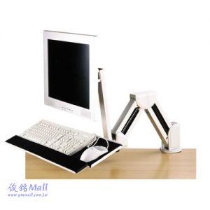 DW GM131AA 夾桌式鍵盤螢幕架,承重10公斤