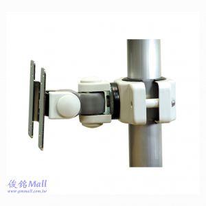 GM1260W 夾管式液晶螢幕架,適合30-50mm的直徑桿範圍,承重10公斤,顯示器可旋轉和傾斜,(有現貨)