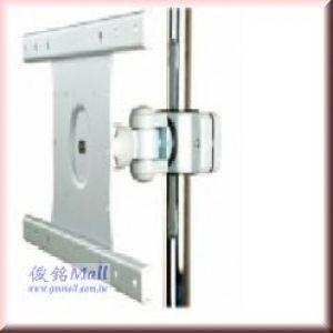 GM126CS 夾管式液晶螢幕架,承重20公斤,顯示器可傾斜和旋轉