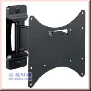 CMW-313 單節手臂超薄鋁合金液晶電視壁掛架,適用至37吋,承重27KG電視