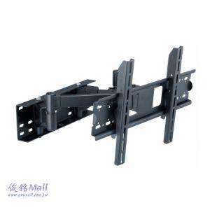 CMW-179 雙節手臂型液晶電視壁掛架,適用23-42吋,承重40KG,可左右旋轉、上下俯仰調整