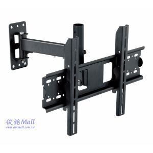 CMW-216 手臂式液晶電視壁掛架,適用23~40吋液晶電視架,可做左右旋轉、上5°下20°俯仰調整