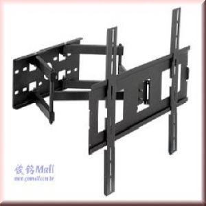 CMW-352 超薄型左右雙節手臂液晶電視螢幕壁掛架,適用最大至55吋,承重50KG