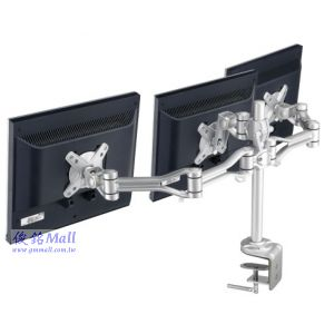 SPEEDCOM LA-311 桌上型液晶三螢幕支撐架,期貨盤/現貨盤/下單這樣操盤才方便,適用15~19吋螢幕