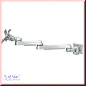 SPEEDCOM LA-551 適用15-24吋旋臂式掛壁型鋁合金 LCD壁掛架,螢幕可上下90度,左右180度,旋轉360度