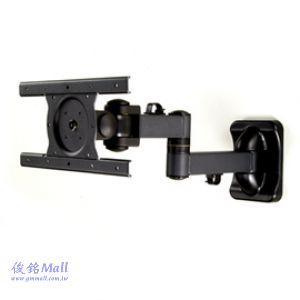 SPEEDCOM LA-178NB 雙節支臂伸縮式液晶電視螢幕壁掛架,適用15-32吋液晶螢幕(電視)