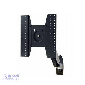 ATW-10M 液晶電視壁掛架,適用26~52吋電視,支臂可左右搖擺、上下傾斜,螢幕可360度旋轉
