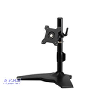 TS-011 桌上型無臂式液晶螢幕架,適用24吋,螢幕多角度調整,可360度旋轉