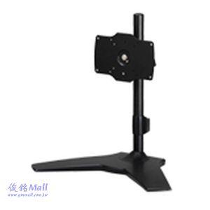 TS-021 適用24~32吋桌上型無臂式液晶螢幕架,承重15公斤,螢幕可360度旋轉,(有現貨)