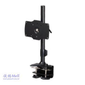 TC-021 夾桌型無臂式液晶螢幕架,適用24~32吋,承重15公斤,螢幕可360度旋轉