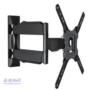 NB P4 懸臂式液晶電視壁掛架,適用32~47吋液晶電視,可左右旋轉約各90度