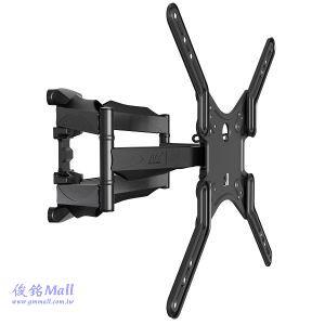 NB P5 懸臂式液晶電視壁掛架,適用32~55吋液晶電視架,可左右旋轉約140度
