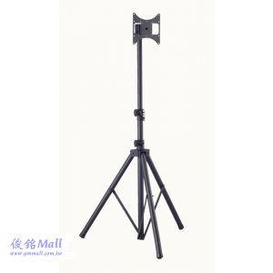 落地式電視三腳架 TR-F940,適用17~37吋電視三腳架,承重25公斤,可調整俯仰角度、支架高度,螢幕360度旋轉
