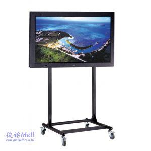 可移動式液晶電視立架 PLAB-1035,適用56~84吋視訊會議電視架/觸控電視螢幕架,承重100KG電視架