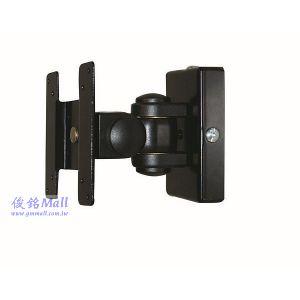 DW GM170黑 壁掛式液晶電腦螢幕架,可上下/左右調整液晶螢幕,螢幕可以旋轉360度